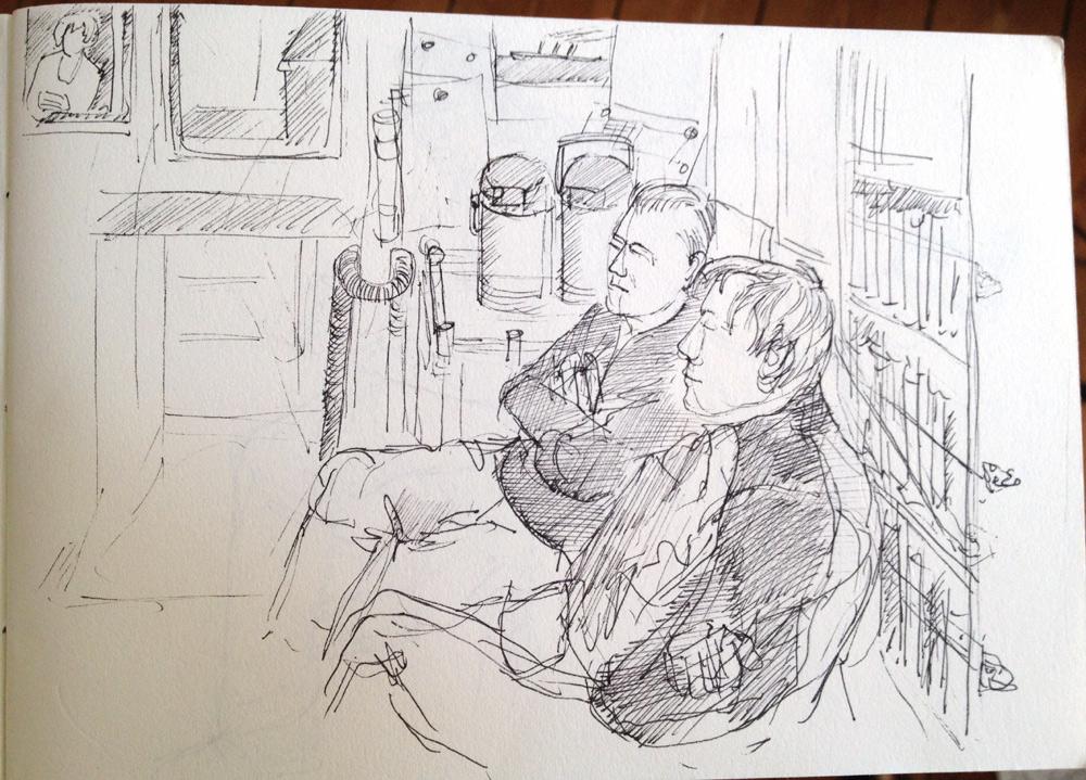 Ankerwache, Zeichnung