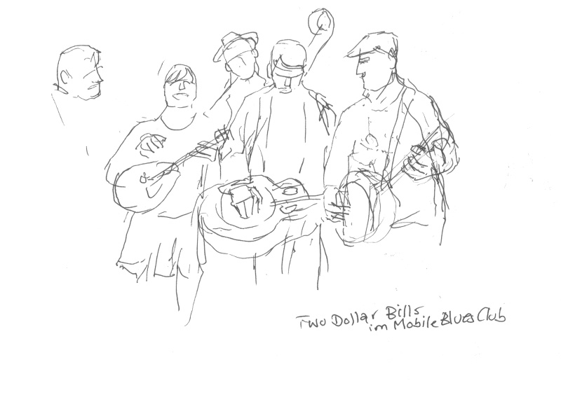 Konzert: Two Dollar Bills im Mobile Blues Club