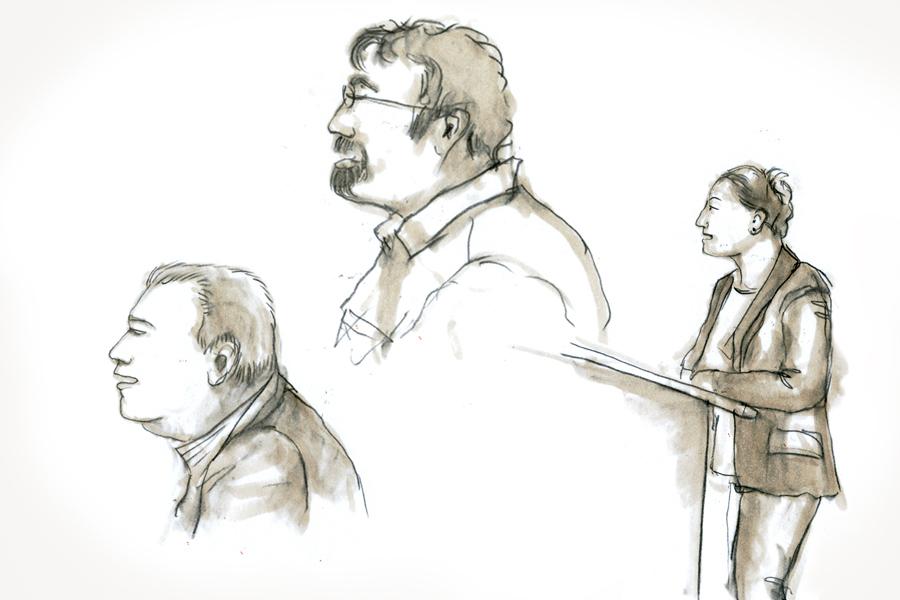 Zeichnungen aus der Bezirksversammlung, 18.12.2014
