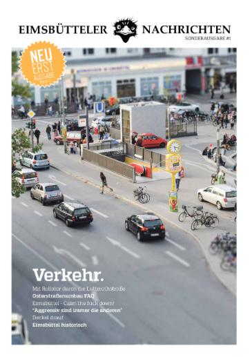 Printausgabe der Eimsbütteler Nachrichten