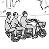 Die Grauzone –Motorrad fahren in Peking
